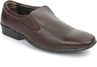 Griffon 851-4002-Brown Slip On Shoes