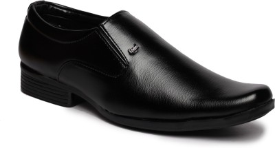 Feather Leather Shoes 027 Slip On Shoes