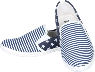 Zezile Navy Loafers