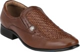 Menz Party Wear Shoes (Brown)