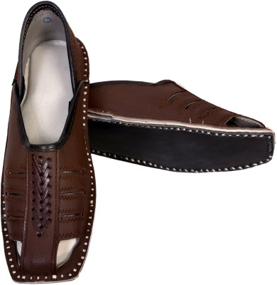 Skill India MenS Leather 7013 Jutis