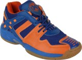 RXN Badminton Shoes (Blue, Orange)