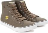 Fila EDGARDO Mid Ankle Canvas Shoes (Oli...