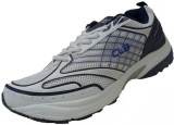 CLB Walking Shoes (White, Navy, Silver)