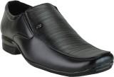 Winkel Black Formal Slip On Shoes (Black...