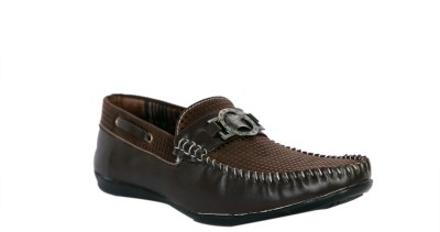 Trendystuff4u Brown Loafers-059 Loafers