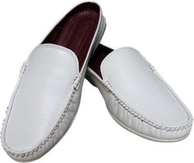 My Look 2108-White Loafers