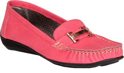 Soft & Sleek Red Loafers