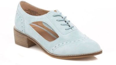 Shellys London Womens Blue Loviri Leather Shoes Casual Shoes