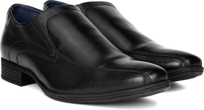 Hush Puppies BOSTON SLIP ON Slip On Shoes(Black)
