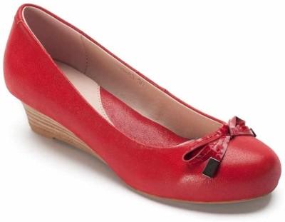 Heel & Buckle Pazzion Kitten Heel Wedge Corporate Casuals Shoes