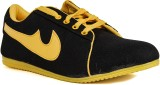 Runner Chief Black-Yellow Sneakers (Blac...
