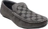 Bob Checkered Loafers (Grey)