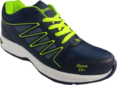 Spot On FKSP-E-245-NBL-GRN Running Shoes