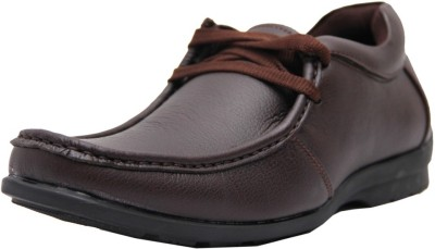 Black Tiger Men's Synthetic Leather Casual Shoes 4003-Brown-9 Casuals
