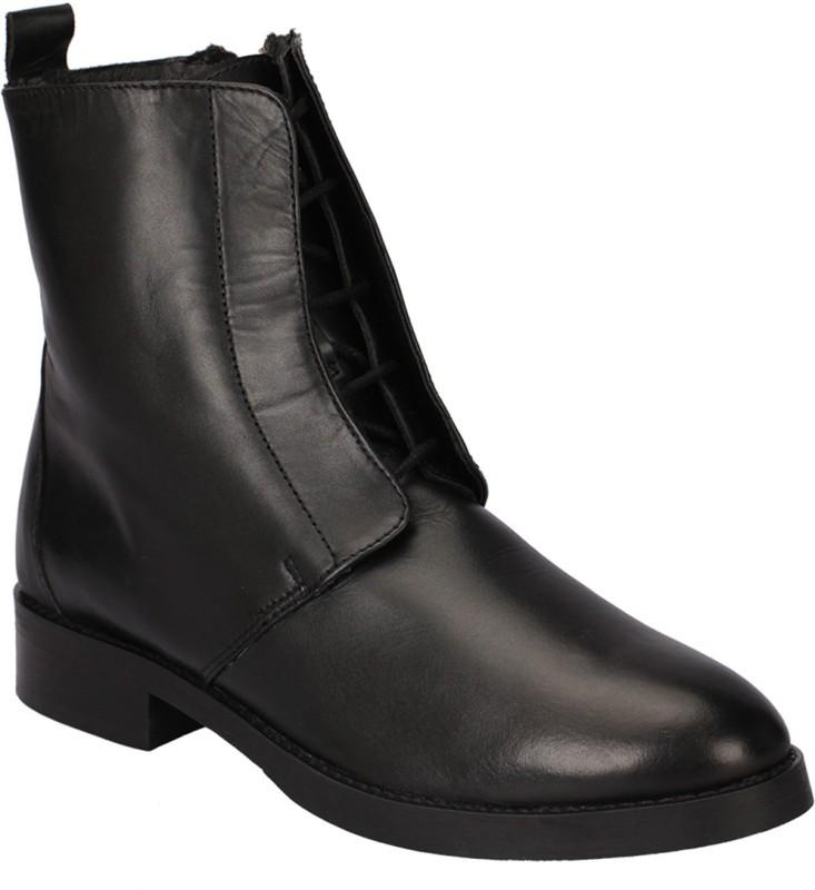 Black Pony Boots