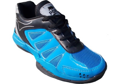 Port Super Labron Blue Badminton Shoes(Blue)