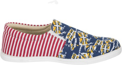 Advin England Red & Yellow Lifestyle Casual Shoes Sneakers