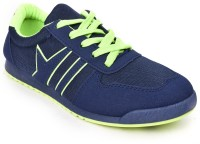 Action Shoes KMP-722-Navy-Green Running Shoes(Navy, Green)