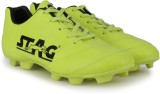 Stag Kross Football Shoes (Black, Green)