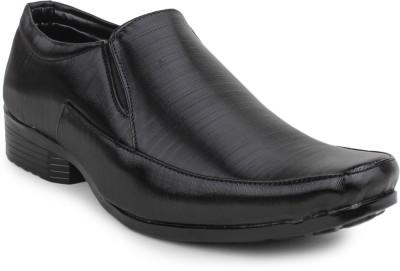 11e Frml-3017-Black Slip On Shoes