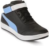 ANAV Casual Shoes (Black, Blue)