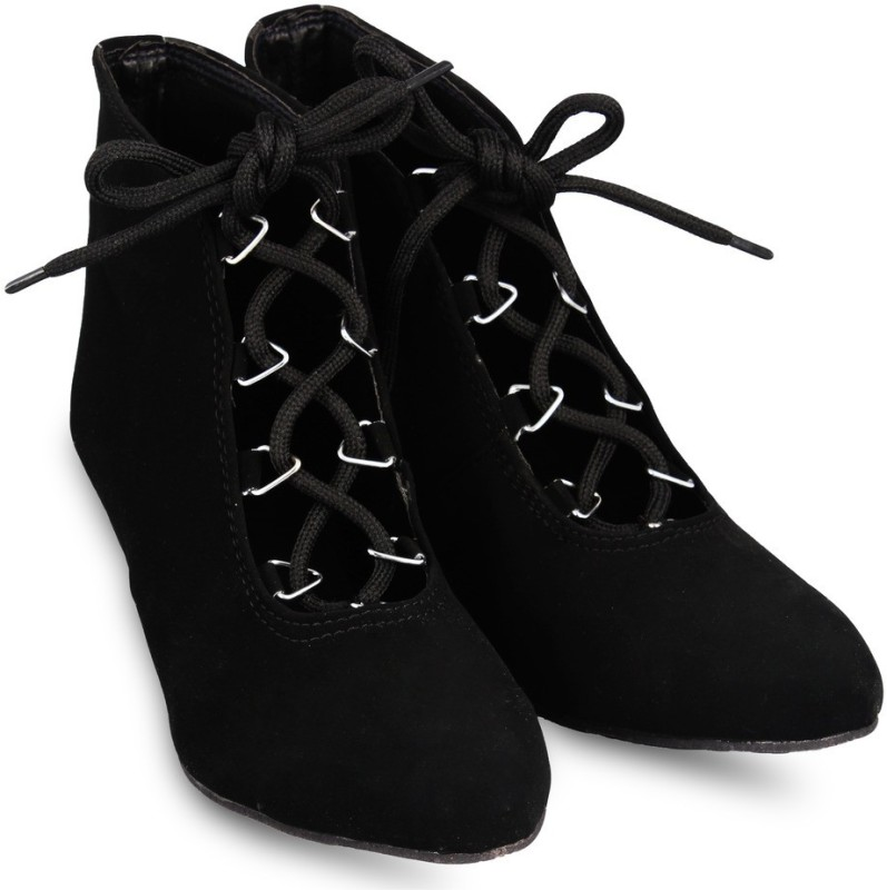 Anand Archies Boots(Black)