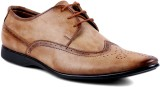 Peponi Brogue Style Lace Up (Beige)