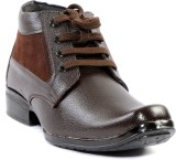 Indo Brown casual Shoes Boots (Brown)