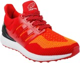 Vostro Boost-2 Running Shoes (Red, Orang...