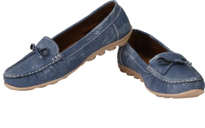 Real Blue Loafers