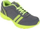 I-Sports Running Shoes (Grey, Green)
