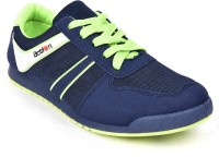 Action Shoes KMP-721-Navy-Green Running Shoes(Navy, Green)