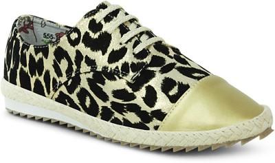 Get Glamr Designer Lace Ups Canvas Shoes