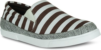 Fab Fashion Stripe Casual Shoes