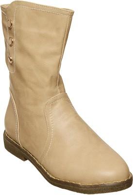 Flat n Heels Boots(Beige)