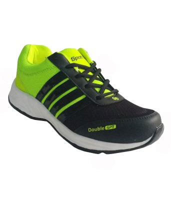 Spot On FKSP-E-257-BLK-GRN Running Shoes