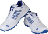 Air Running Shoes (White, Blue)