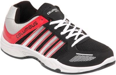 Columbus Dynamic Black Running Shoes