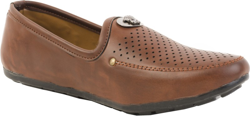 Kushwah Casuals LoafersBrown SHOEQFE44YMR6NQ5