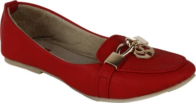 Earth Boon Eb-1121-Red Loafers