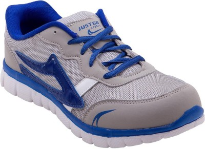 Just Go Men Imported Royal Blue Grey Sports Running Shoes