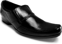 Activa Faux Leather Slip On Shoes(Black) best price on Flipkart @ Rs. 699