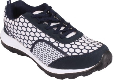 Jabra 7003 NavyBlue & White Running Shoes