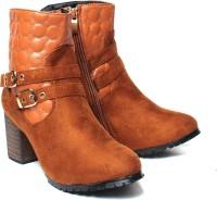 Eliana Women Boots(Beige)