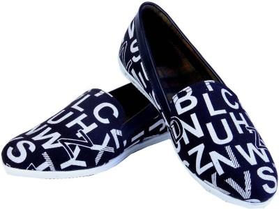 Goyal A2Z Black Loafers Loafers