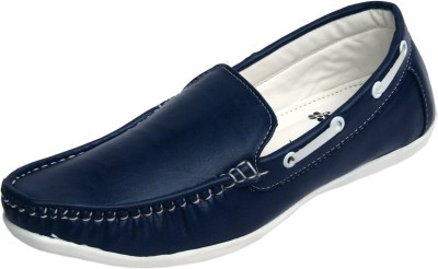 Molessi Molessi Blue Loafer Shoes Loafers
