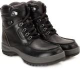 Woodland Men Boots (Black)