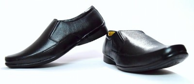 Black Gazelles Slip On Shoes