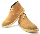 Shoozix Augustus Casual Shoes (Tan)